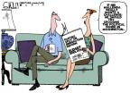 Cartoonist Steve Kelley  Steve Kelley's Editorial Cartoons 2013-06-27 partisan politics