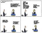 Cartoonist Steve Kelley  Steve Kelley's Editorial Cartoons 2013-09-01 political scandal