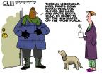 Cartoonist Steve Kelley  Steve Kelley's Editorial Cartoons 2014-01-07 insulation