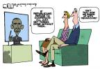Cartoonist Steve Kelley  Steve Kelley's Editorial Cartoons 2014-01-31 partisan