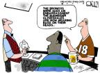 Cartoonist Steve Kelley  Steve Kelley's Editorial Cartoons 2014-02-03 athletics