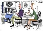 Cartoonist Steve Kelley  Steve Kelley's Editorial Cartoons 2014-02-16 Orleans