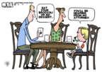 Cartoonist Steve Kelley  Steve Kelley's Editorial Cartoons 2014-03-11 child