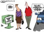 Cartoonist Steve Kelley  Steve Kelley's Editorial Cartoons 2014-06-13 military