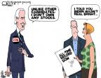 Cartoonist Steve Kelley  Steve Kelley's Editorial Cartoons 2014-07-04 2016 Election Joe Biden