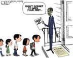 Cartoonist Steve Kelley  Steve Kelley's Editorial Cartoons 2014-07-11 don't