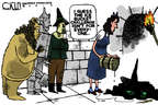Steve Kelley  Steve Kelley's Editorial Cartoons 2014-08-20 Wizard of Oz