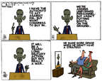 Cartoonist Steve Kelley  Steve Kelley's Editorial Cartoons 2014-09-11 military