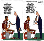 Cartoonist Steve Kelley  Steve Kelley's Editorial Cartoons 2016-08-29 violence