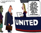 Cartoonist Steve Kelley  Steve Kelley's Editorial Cartoons 2017-04-13 officer