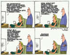 Cartoonist Steve Kelley  Steve Kelley's Editorial Cartoons 2017-05-18 2016 election
