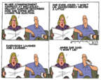 Cartoonist Steve Kelley  Steve Kelley's Editorial Cartoons 2017-05-30 2016 election
