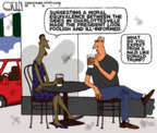 Cartoonist Steve Kelley  Steve Kelley's Editorial Cartoons 2017-08-22 Presidency