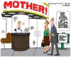 Cartoonist Steve Kelley  Steve Kelley's Editorial Cartoons 2017-09-19 season