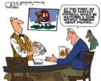 Cartoonist Steve Kelley  Steve Kelley's Editorial Cartoons 2017-10-17 watch sports