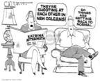 Cartoonist Steve Kelley  Steve Kelley's Editorial Cartoons 2005-09-02 gun