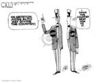 Cartoonist Steve Kelley  Steve Kelley's Editorial Cartoons 2005-11-02 far
