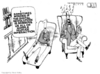 Cartoonist Steve Kelley  Steve Kelley's Editorial Cartoons 2005-12-15 human