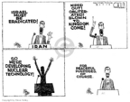 Cartoonist Steve Kelley  Steve Kelley's Editorial Cartoons 2006-02-03 nuclear weapon
