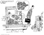 Steve Kelley  Steve Kelley's Editorial Cartoons 2006-04-06 conflict of interest