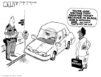 Cartoonist Steve Kelley  Steve Kelley's Editorial Cartoons 2006-04-07 officer