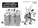 Cartoonist Steve Kelley  Steve Kelley's Editorial Cartoons 2006-07-10 North Korea