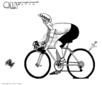Cartoonist Steve Kelley  Steve Kelley's Editorial Cartoons 2006-08-02 performance-enhancing drug