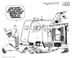 Cartoonist Steve Kelley  Steve Kelley's Editorial Cartoons 2006-08-23 recovery