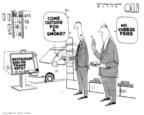 Cartoonist Steve Kelley  Steve Kelley's Editorial Cartoons 2006-09-29 cheese