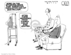 Cartoonist Steve Kelley  Steve Kelley's Editorial Cartoons 2006-10-19 Viagra