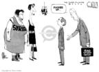 Cartoonist Steve Kelley  Steve Kelley's Editorial Cartoons 2006-12-07 James