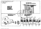 Cartoonist Steve Kelley  Steve Kelley's Editorial Cartoons 2007-01-31 climate