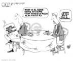 Cartoonist Steve Kelley  Steve Kelley's Editorial Cartoons 2007-02-28 fitness