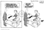 Cartoonist Steve Kelley  Steve Kelley's Editorial Cartoons 2008-03-08 presidential pardon