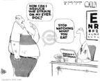 Cartoonist Steve Kelley  Steve Kelley's Editorial Cartoons 2007-04-11 ophthalmologist