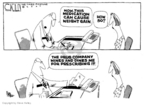 Steve Kelley  Steve Kelley's Editorial Cartoons 2007-04-27 conflict of interest