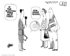 Steve Kelley  Steve Kelley's Editorial Cartoons 2007-05-18 2008 debate
