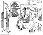 Cartoonist Steve Kelley  Steve Kelley's Editorial Cartoons 2007-06-01 public health