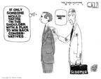 Cartoonist Steve Kelley  Steve Kelley's Editorial Cartoons 2007-06-19 someone
