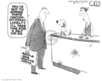 Cartoonist Steve Kelley  Steve Kelley's Editorial Cartoons 2007-07-31 animal rights