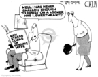 Cartoonist Steve Kelley  Steve Kelley's Editorial Cartoons 2007-09-05 couple