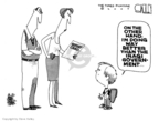 Cartoonist Steve Kelley  Steve Kelley's Editorial Cartoons 2007-09-17 on the other hand
