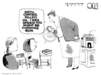 Cartoonist Steve Kelley  Steve Kelley's Editorial Cartoons 2007-10-19 pill