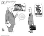Cartoonist Steve Kelley  Steve Kelley's Editorial Cartoons 2007-11-02 human