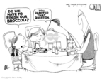 Cartoonist Steve Kelley  Steve Kelley's Editorial Cartoons 2007-11-15 fathers and sons