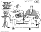 Cartoonist Steve Kelley  Steve Kelley's Editorial Cartoons 2007-12-17 Major League Baseball