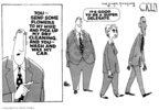 Cartoonist Steve Kelley  Steve Kelley's Editorial Cartoons 2008-02-15 2008 delegate