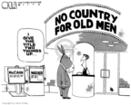 Cartoonist Steve Kelley  Steve Kelley's Editorial Cartoons 2008-02-26 John McCain