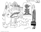 Cartoonist Steve Kelley  Steve Kelley's Editorial Cartoons 2008-02-28 John McCain