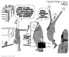 Cartoonist Steve Kelley  Steve Kelley's Editorial Cartoons 2008-03-12 $200